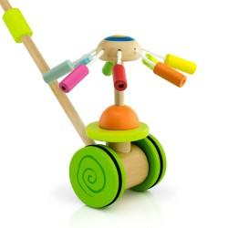 zabawka drewniana do pchania z możliwością wygrawerowania dedykacji