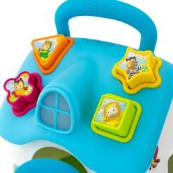 sorter smoby do kształtów dla dziecka, niebieska wersja kolorystyczna