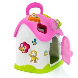domek smoby sorter kształtów dla dziewczynki na roczek