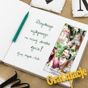 księga gości na ślub, przykładowe życzenia