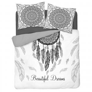 modna pościel bawełniana na duże łóżko