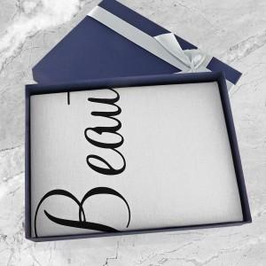 pościel w pudełku prezentowym