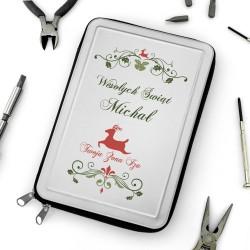 zestaw narzędzi z podpisem wesołych świat dla męża na świeta