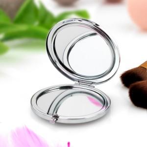 okrągle lusterko kompaktowe z możliwością personalizacji