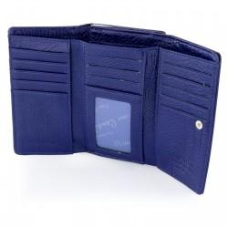 wnętrze damskiego portfela skórzanego pierre cardin