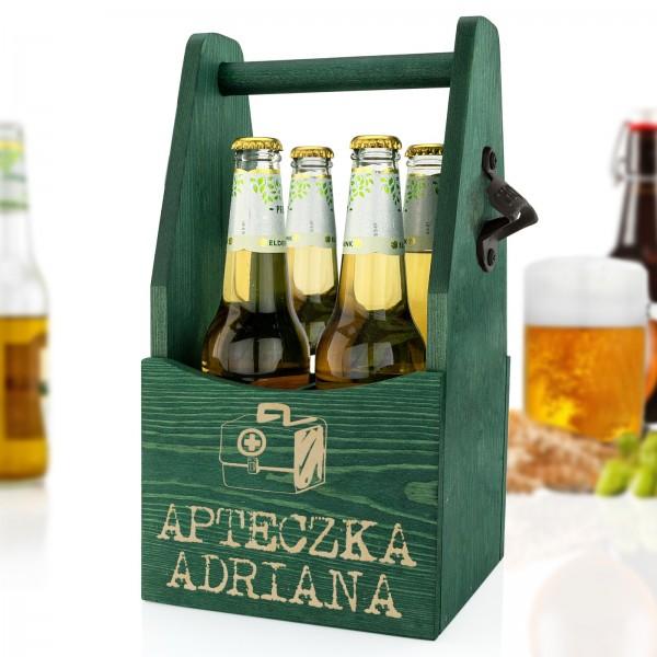 nosidło na piwo z grawerem apteczka adriana