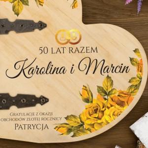 album na prezent na 50 rocznicę ślubu