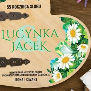 album szmaragdowa rocznica ślubu