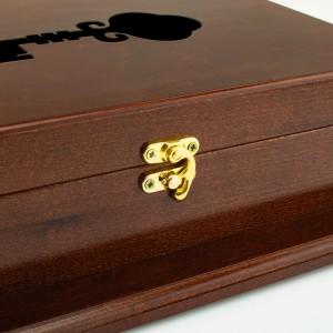 haczyk zamknięcie szafki na klucze na prezent dla teściów