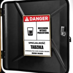 personalizowany kanister z nadrukiem dla faceta na prezent