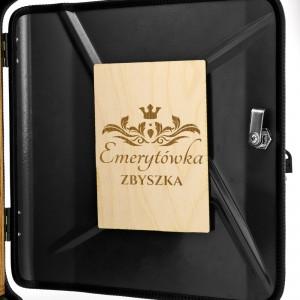 prezent dla emeryta personalizowany kanister barek z dedykacją