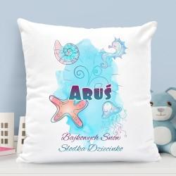 poduszka dla dziecka z nadrukiem imienia na prezent