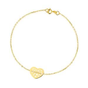 złota bransoletka 333 na prezent dla niej